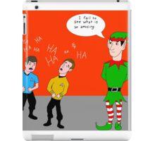 Elf Spock iPad Case/Skin