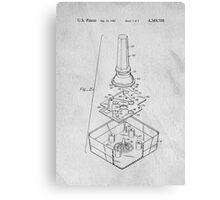 Classic Atari Joystick Original Patent Art Canvas Print