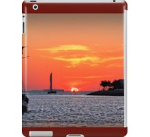 Keywest Sunset iPad Case/Skin