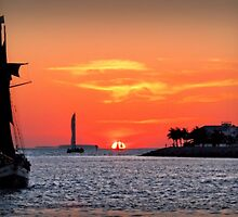 Keywest Sunset by DJ Florek