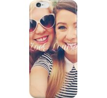 Zoe Sugg and Louise Pentland (Zoella & SprinkleOfGlitter) iPhone Case/Skin