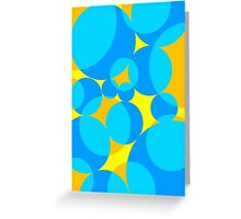 Groovy Circles Greeting Card