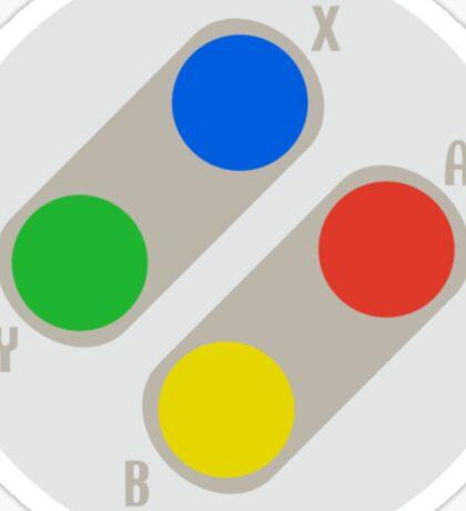 Super Buttons Sticker