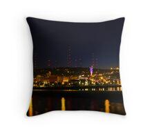 Duluth Skyline Throw Pillow
