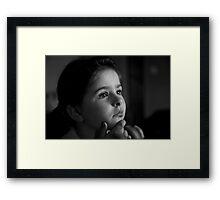 SPONGE BOB,,,,,,,MY HERO Framed Print
