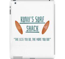 Kunu's Surf Shack iPad Case/Skin