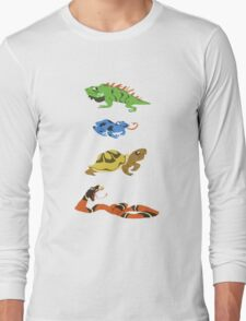 Reptile party!  Long Sleeve T-Shirt