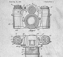 35mm Camera Original Patent Art by Edward Fielding