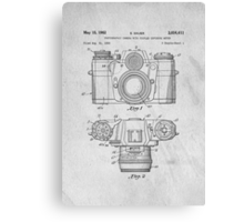 35mm Camera Original Patent Art Canvas Print