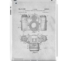 35mm Camera Original Patent Art iPad Case/Skin