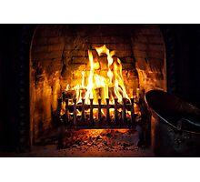 Fire Photographic Print