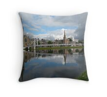 River Ness Reflections Throw Pillow