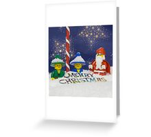 Merry Christmas from the North Pole Greeting Card
