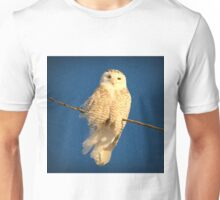 Guardian Angel (snowing) Unisex T-Shirt