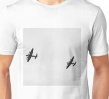 Lancasters over Goodwood  Unisex T-Shirt