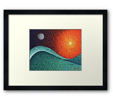The Cycle of the Tides Framed Print