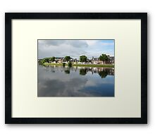 River Ness Reflections 2 Framed Print