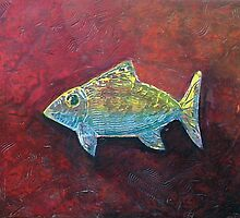 IRRIDESCENT FISH by Roeder  Kinkel