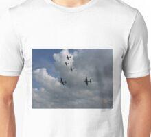 Warbirds at Goodwood  Unisex T-Shirt