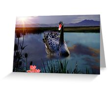 The Peaceful Pond - IV Greeting Card