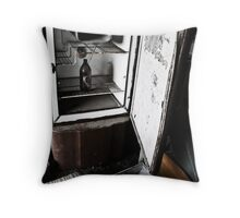 An empty life Throw Pillow