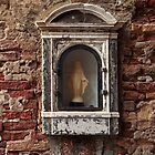 Wall Niche In Venice by Reese Forbes