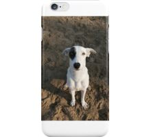 Black and white dog iPhone Case/Skin