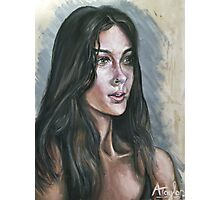 Oil portrait study Photographic Print