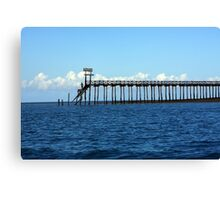 Prison Island Jetty - East Africa Canvas Print