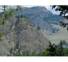 Layer Cake Mountain Photographic Print