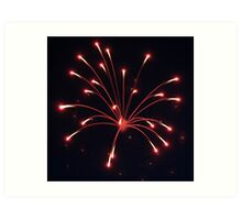 Fourth Of July Fireworks Art Print