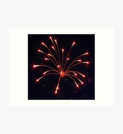Fourth Of July Fireworks Art Print