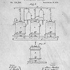 Beer Fermentation Original Patent by Edward Fielding