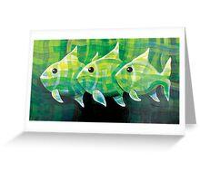 PLAD  FISH Greeting Card