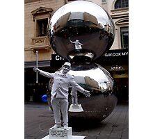 photoj South Australia, Adelaide Rundle Mall, G Day! Photographic Print