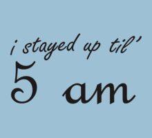 I stayed up til' 5 am by poppyflower