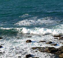 Tide coming in at Blackhead Beach N.S.W. Australia. by Heabar