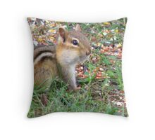 Stuffed Cheekers! Throw Pillow