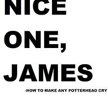 Nice one. James! by Seaislechick