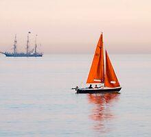 Tall Ship & Squib by mikebov