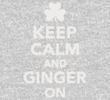 Keep calm and ginger on One Piece - Long Sleeve