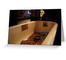 LIC tub Greeting Card