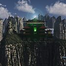 Mountain City of Solitude by Steve Davis
