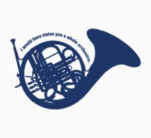 THE BLUE FRENCH HORN by Emi Bourke