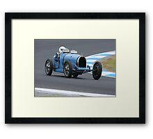 Bugatti Type 35C Framed Print