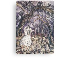 Angel in the Woods Canvas Print