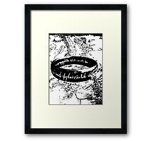 The ONE Ring, L'unico Anello Framed Print