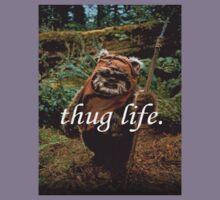 Ewok Thug Life Kids Clothes