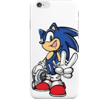 Sonic with turbo iPhone Case/Skin