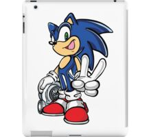 Sonic with turbo iPad Case/Skin